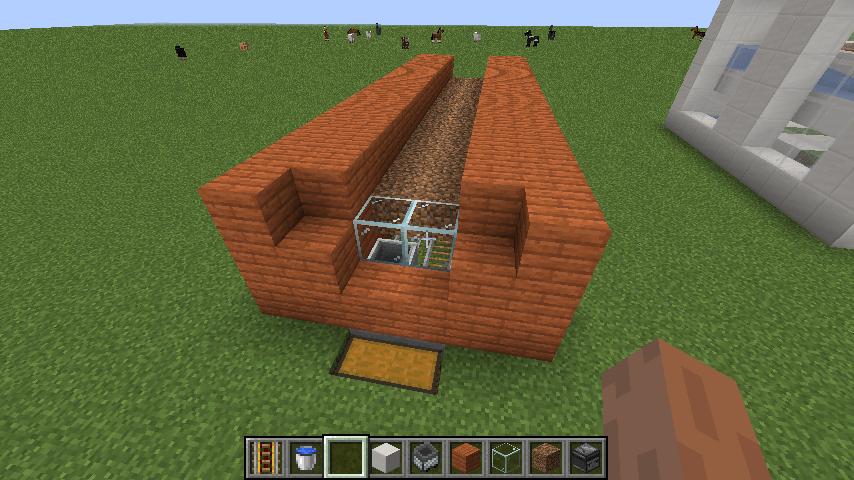 トロッコ型サトウキビ自動収穫機②-土台作り④