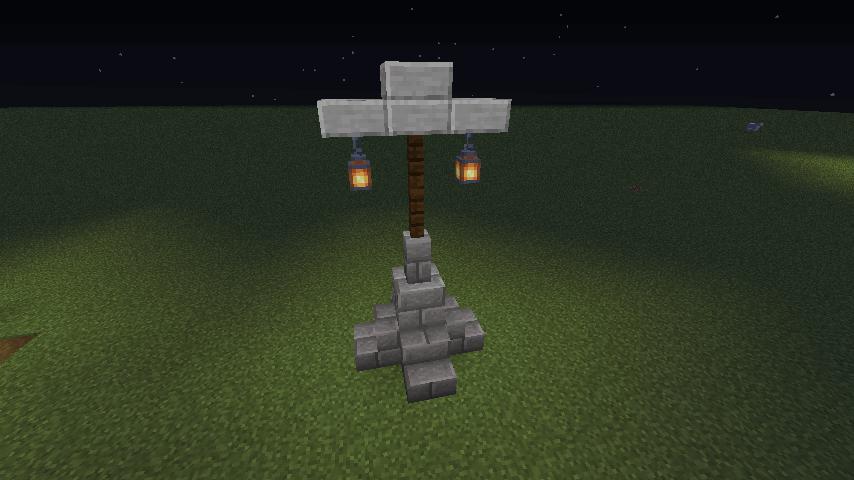石の街灯①