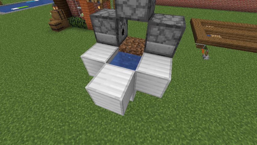 コンパクト型小麦自動収穫機-作業②