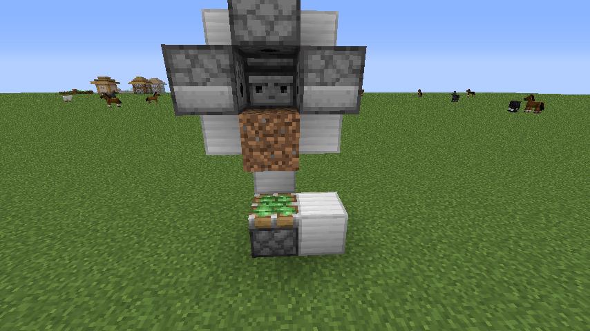 コンパクト型小麦自動収穫機-作業⑤