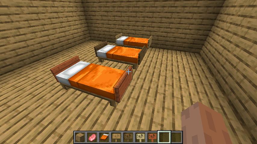シンプルなベッド②