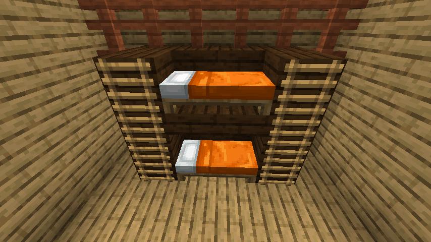 シンプルな2段ベッド④