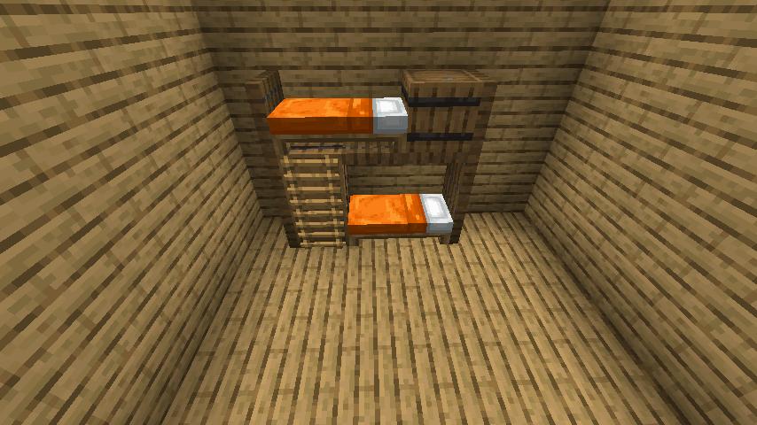シンプルな2段ベッド②