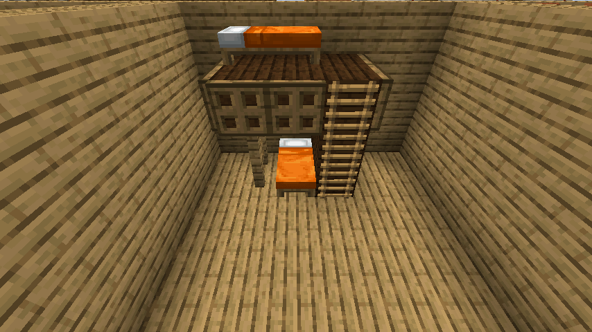 シンプルな2段ベッド③