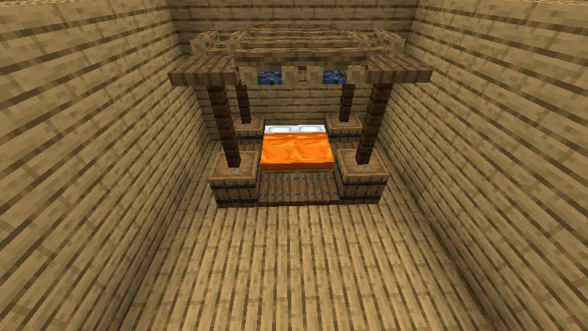 天井付きベッド