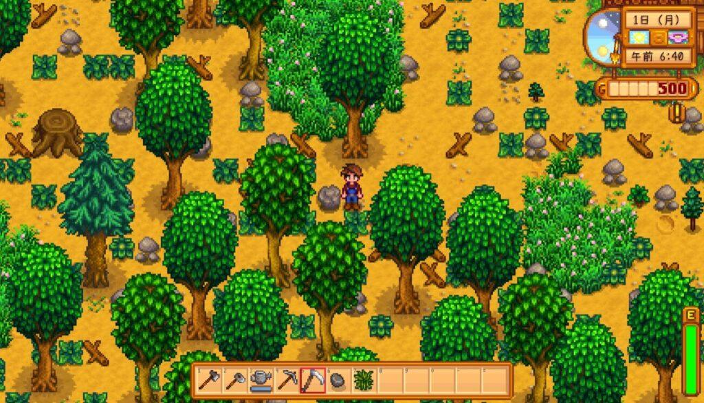 初期の牧場
